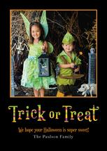 Trick or Treat by Wonderment Paper Co.