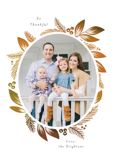 holiday photo cards - Fall Frame by Itsy Belle Studio