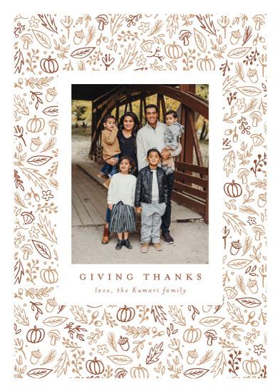 holiday photo cards - Thankful frame by Susanne Kasielke