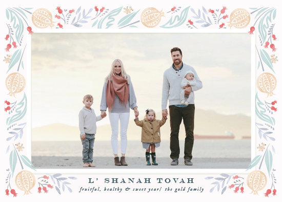holiday photo cards - Fruitful year by Ana de Sousa