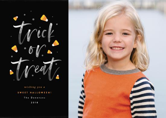 holiday photo cards - A Sweet Halloween by Ana Sharpe