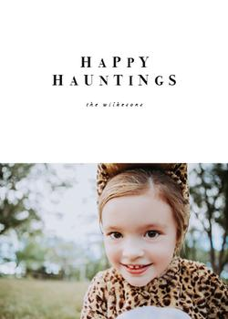 happy hauntings minimal