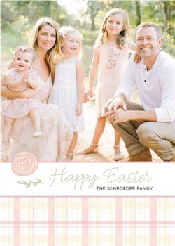 Soft Plaid Easter