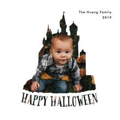 Happy Halloween Haunted Castle