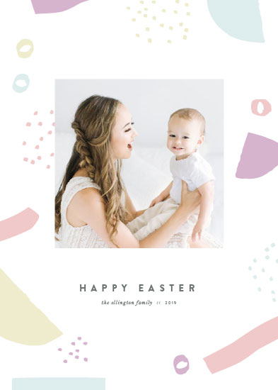 holiday photo cards - Whimsy Easter by Katy Shen