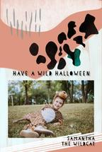 Wild print halloween by Kelly Corcoran