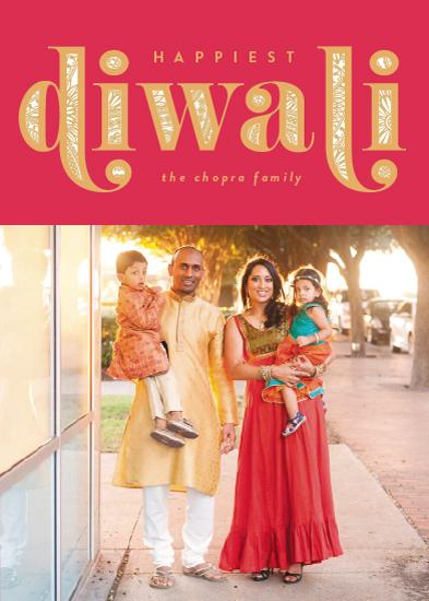holiday photo cards - Diwali Inlay by Robert and Stella