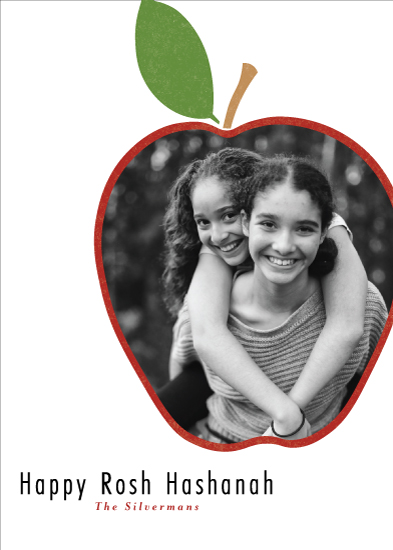 holiday photo cards - Apple by Elky Ink