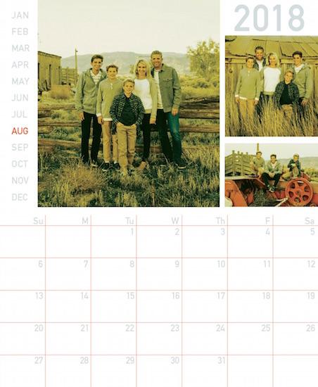 calendars - simple timeline by lulablu