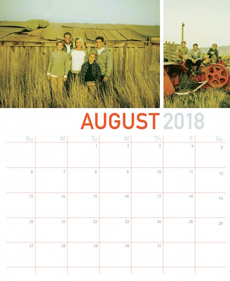 calendars - modern grid by lulablu