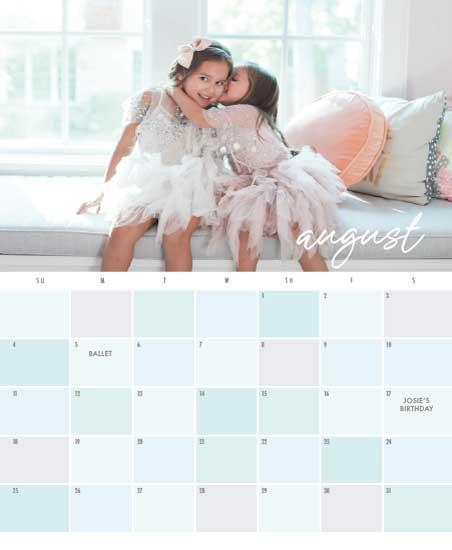 calendars - Pastel Paint Chips by Jan Shepherd
