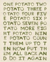 Potato Rhyme by Meridyth Espindola