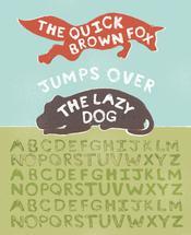 Typographer's Alphabet by Meridyth Espindola