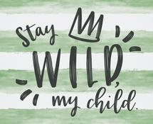 Stay Wild by Meridyth Espindola