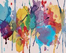 Watercolor splash by tktinted