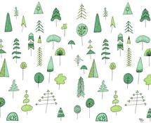 Green Trees by Melissa Kircher