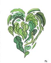 Leaf Love by Melissa Kircher