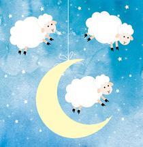 Sweet Dreams Sheep by Kathy Par