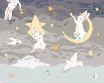 Bedtime Bunnies by Heather Young Art