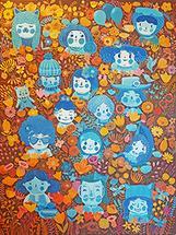 Happy Blue by Jingwen Ma