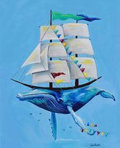 Whale Boat by Jodi Augustine