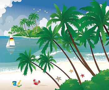 Summer on the Beach, Third Scene