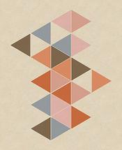 Colored triangles by Ramiro Pires