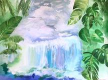 Waterfall by Hannah Lowe Corman