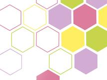 Bright hexagon by Shreya D