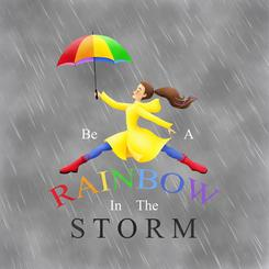 Be a Rainbow in the Storm