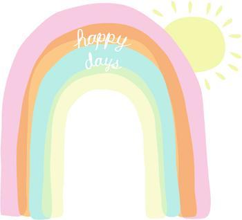 A Rainbow of Happy Days