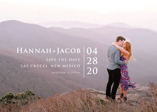 save the date cards - Scenic by PrintHappy Designs