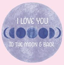 Love you to the moon -... by Amy Solaro