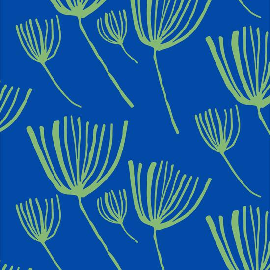 - Fleurs au vent by Nathalie Chikhi