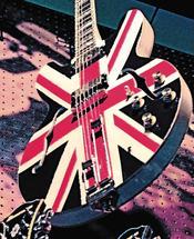 Union Jack Guitar by Aure