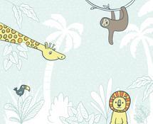 Subtle Jungle 2 by Gila von Meissner