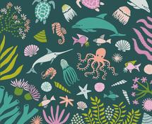 Ocean Life by Tishya Oedit