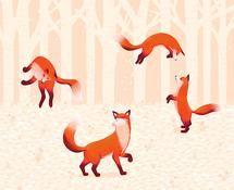 Fox Playground by Lina Che
