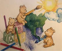 A Beary Creative World by Katy Knorr