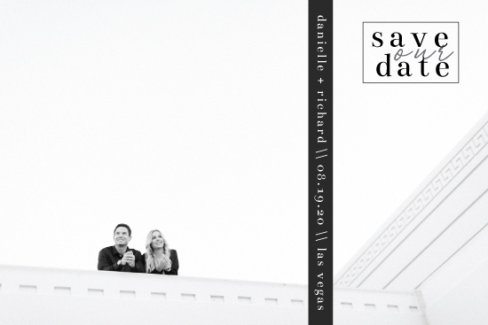 save the date cards - Sending our love by Hannah Baumann