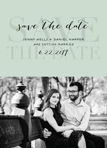 Formal Save the Date by Alexandra Cohn