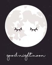 Goodnight Moon by Sydnie Horton