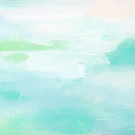 art prints - Hideaway Beach by Artsy Canvas Girl Designs