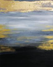 Moonlight at Sea by Kathy Par