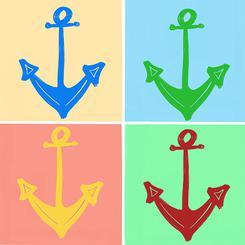 Anchors - A Faux Warhol