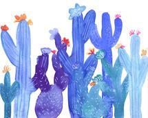 Blue Desert by Jenn Rice
