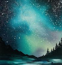 Milky Way by Laura Blue Palmer