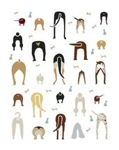 Dog Butts by Amy Granger