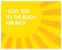 Love You To the Beach by Lily Wu