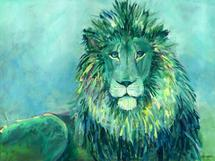 Lion by Steph Joy Hogan